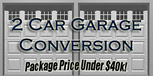 Two Car Garage Conversion Link